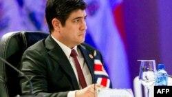 Carlos Alvarado, presidente de Costa Rica en comparecencia ante Naciones Unidas