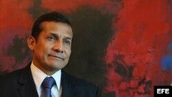 El presidente de Perú, Ollanta Humala, en foto de archivo.
