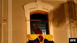 El Balcón del Pueblo del Palacio de Miraflores.