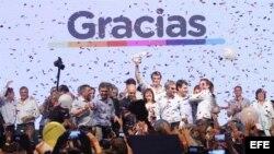 Macri gana las elecciones presidenciales en Argentina.