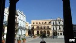 La plaza de la Catedral de La Habana. Archivo.