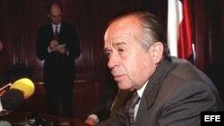 Fotografía de archivo del senador chileno Andrés Zaldívar.