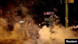 Protestas este miércoles en La Paz, Bolivia. REUTERS/Manuel Claure