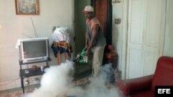 Dengue Cuba fumigación