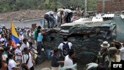Indígenas del departamento de Cauca se organizan militarmente