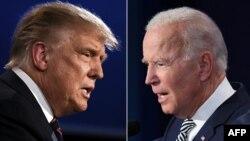 Donald Trump y Joe Biden debaten por la presidencia de EE. UU.