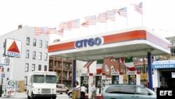 Una estación de servicio Citgo en Brooklyn, estado de Nueva York.