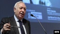 García-Margallo: 'no ha habido contraprestación política para traer a Carromero'