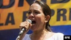 """María Corina Machado a Radio Martí: """"queremos liberar a Venezuela y a Cuba"""""""