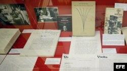 Documentos de Octavio Paz. Archivo.
