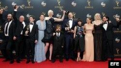 Actores, productores y guionistas de Juego de Tronos.