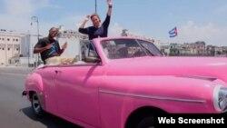 """Imagen de la versión de """"Happy"""" rodada en la Habana."""