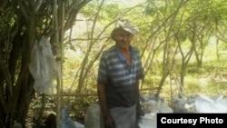 Ramón Cubas Madrigal, mutilado de guerra en la lucha del Escambray (2). F: Cortesía Cubanet.