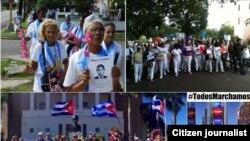 Reporta Cuba Fotos de #TodosMarchamos