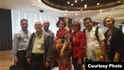 Miembros de la delegación cubana a LASA