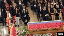 El funeral de Estado de Hugo Chávez. (Archivo)