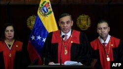 Maikel Jose Moreno, pdte del Tribunal Supremo en Venezuela.