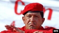 Presidente socialista de Venezuela Hugo Chávez