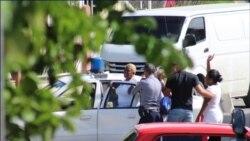 Dos damas de blanco detenidas en La Habana fueron deportadas hacia Santiago de Cuba.