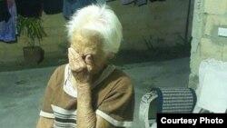 América Hernández, de 92 años podría ser desalojada (Foto tomada de Facebook María De Jesús Soria Martínez).