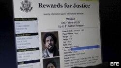 Recompensa por información sobre Al Libi