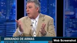 Armando de Armas, escritor cubano y periodista de Radio Martí. Residente en Miami. (Foto cortesía)