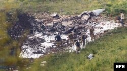 Cae un avión israelí F16 en operación militar contra objetivos iraníes en Siria. EFE