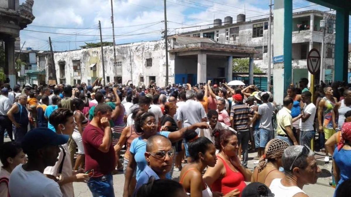 Protestas en La Habana por falta de agua y electricidad (Fotos+Video)