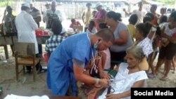 Médicos cubanos en Ecuador. Foto Archivo