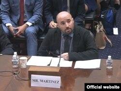 Carlos Martínez de la Serna, del Comité de Protección de Periodistas, fue uno de los tres panelistas invitados.