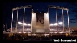 Kauffman Stadium.