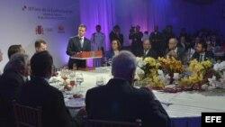 Intervención de Enrique Peña Nieto, durante una cena ofrecida en Veracruz con motivo del Tercer Foro de la Comunicación, en el marco de la XXIV Cumbre Iberoamericana.