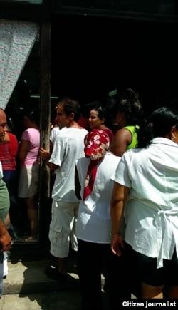 Reporta Cuba Ventas en Sagua Foto Didier Martínez