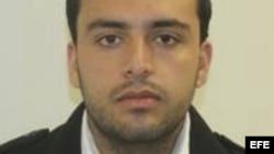 Imagen facilitada por la Policía de Nueva Jersey que muestra al ciudadano estadounidense Ahmad Khan Raham.