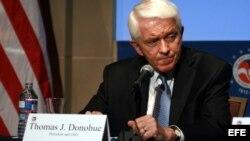 El presidente de la Cámara de Comercio de EEUU, Tom Donohue.