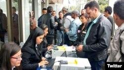 Delegados de las FARC inician en Bogotá su acreditación a congreso para fundación de un nuevo partido en Colombia.