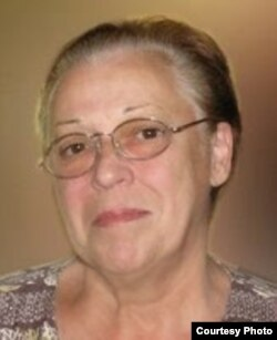 Tania Díaz Castro, fundadora del partido Pro Derechos Humanos de Cuba.