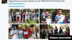 Campaña #Todos Marchamos busca presionar al gobierno por la libertad de los presos políticos en Cuba.