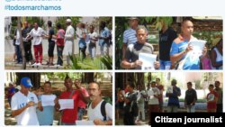 Reporta Cuba. #TodosMarchamos. Fotos: Ángel Moya.