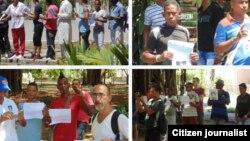 Liberan a un grupo de opositores que participarían en #TodosMarchamos
