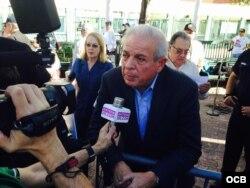 El alcalde de la ciudad de Miami, Tomás Regalado.