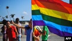 Miembros de la comunidad LGBTI en Cuba.