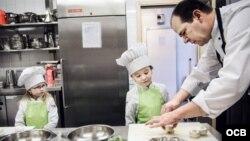 1800 Online con chef Douglas Rudd