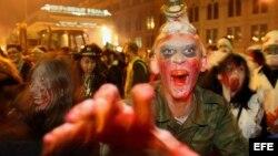Festival de zombie en St.Petersburg
