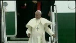 El Papa Francisco inicia en Brasil su primera gira internacional