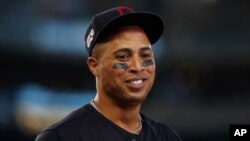 Leonys Martin. Foto Archivo (AP Photo/Paul Sancya)