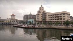 Vista de la sede de GAESA, el emporio militar cubano.