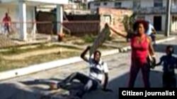 Reporta Cuba. Protesta en Guantánamo.