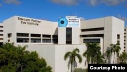 El Instituto Bascom Palmer, perteneciente al sistema de salud de la Universidad de Miami, UM.