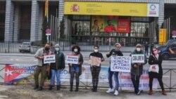 Cubanas reclaman desde España una Ley Integral contra la violencia de género en la isla